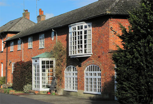 Exterior view of The Yoga Room, Otterbourne House